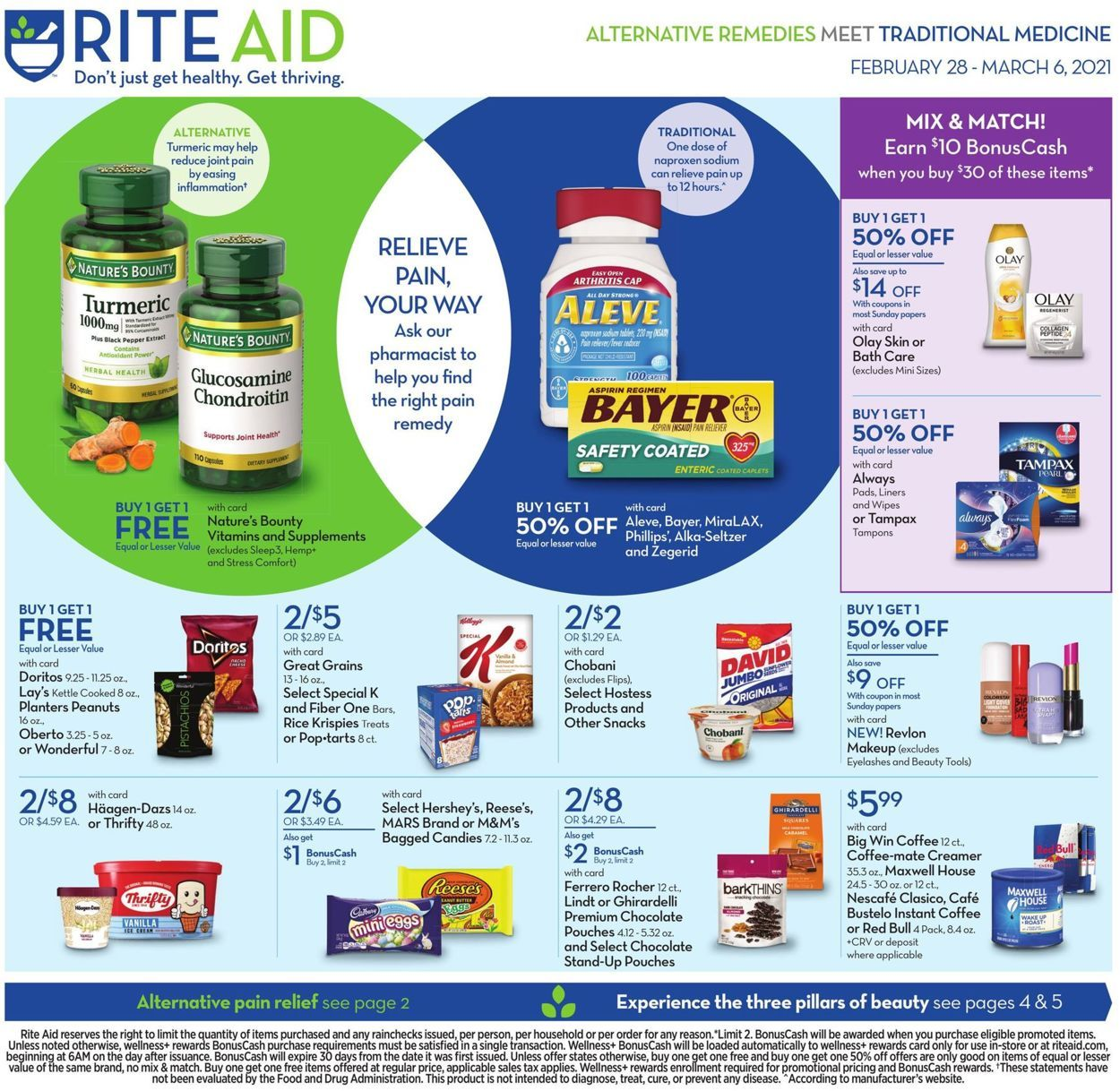 Rite Aid Weekly Ad Feb 28 Mar 6 2021 In 2021 Online Coupons Codes Online Coupons Rite Aid
