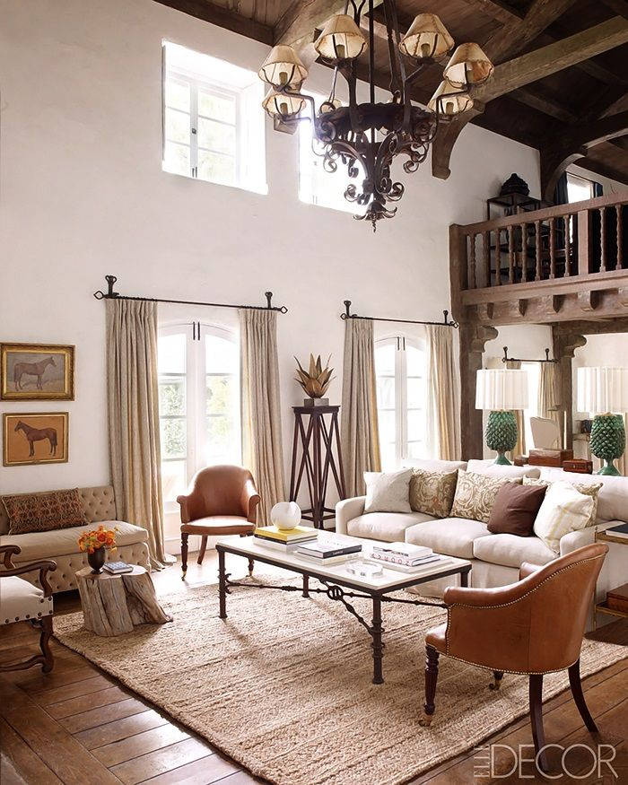 Room Reese Witherspoons House ELLE DECOR 2