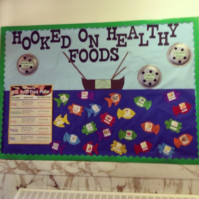 Nutrition Bulletin Boards On Pinterest Cafeteria