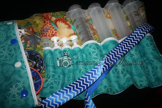 Tubie Feed Amp Go Syringe Gtube Pads Extension Holder By