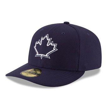 1b337576c72 Men s Toronto Blue Jays New Era Navy Diamond Era Low Profile 59FIFTY Fitted  Hat