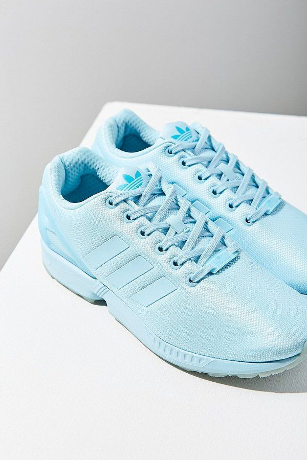 91b7a2ab7   light blue Adidas Mono ZX Flux Sneaker! How amazing are these  I m loving  that it s so easy to find unique sneakers these days. Remember when tennies  used ...