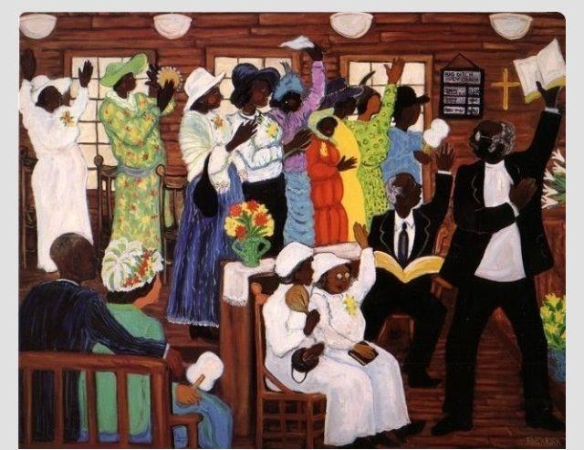 """Black Church"". The cohesiveness of the church unit ..."