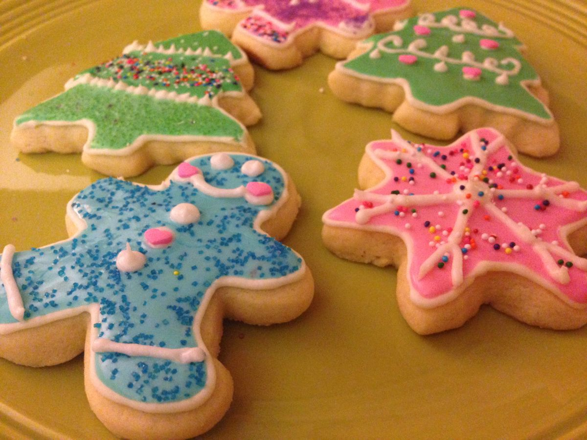 Easy Cake Icing Videos: Easy, Cake Mix Sugar Cookies! (Roll Out & Cut Out Friendly