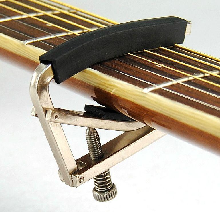 Black Acoustic Guitar capo Metal guitar parts High quality