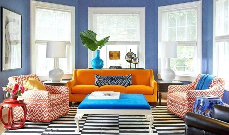 split complementary color scheme colourful living room on best colors for home office space 2021 id=56555