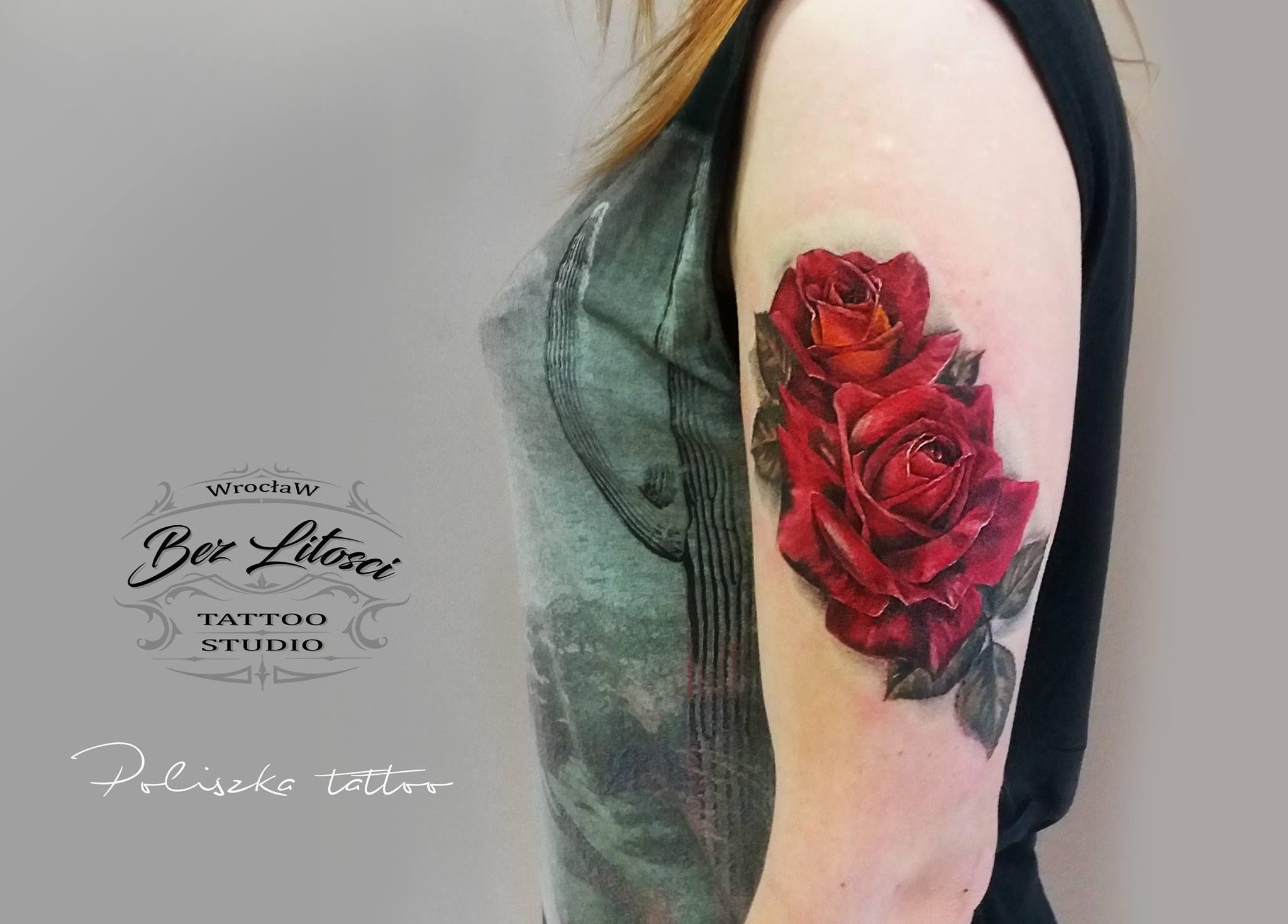 Art Poliszka Tattoo Poliszka Tattoo Bez Litosci Tattoo Studio Wroclaw Poland Tel 48 535 976 097 Mail Bezlito Tattoo Studio Tattoos Flower Tattoo