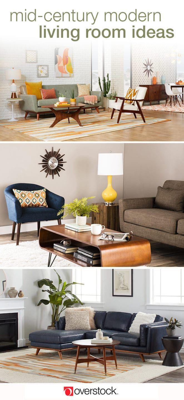20 Mid-Century Modern Living Room Ideas   Mid century ...