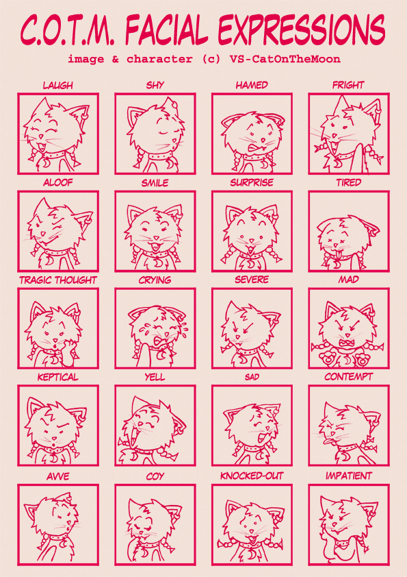 Expression Meme-C.O.T.M. by vs-catonthemoon