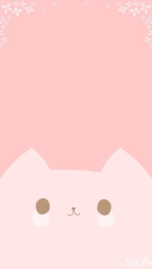 Kawaii Cat Wallpaper Wallpaper Iphone Cute Kawaii Wallpaper Iphone Wallpaper Kawaii