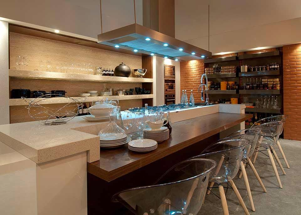 30 Bancadas de cozinhas gourmet \u2013 inspire-se em modelos lindos e - modelos de cocinas