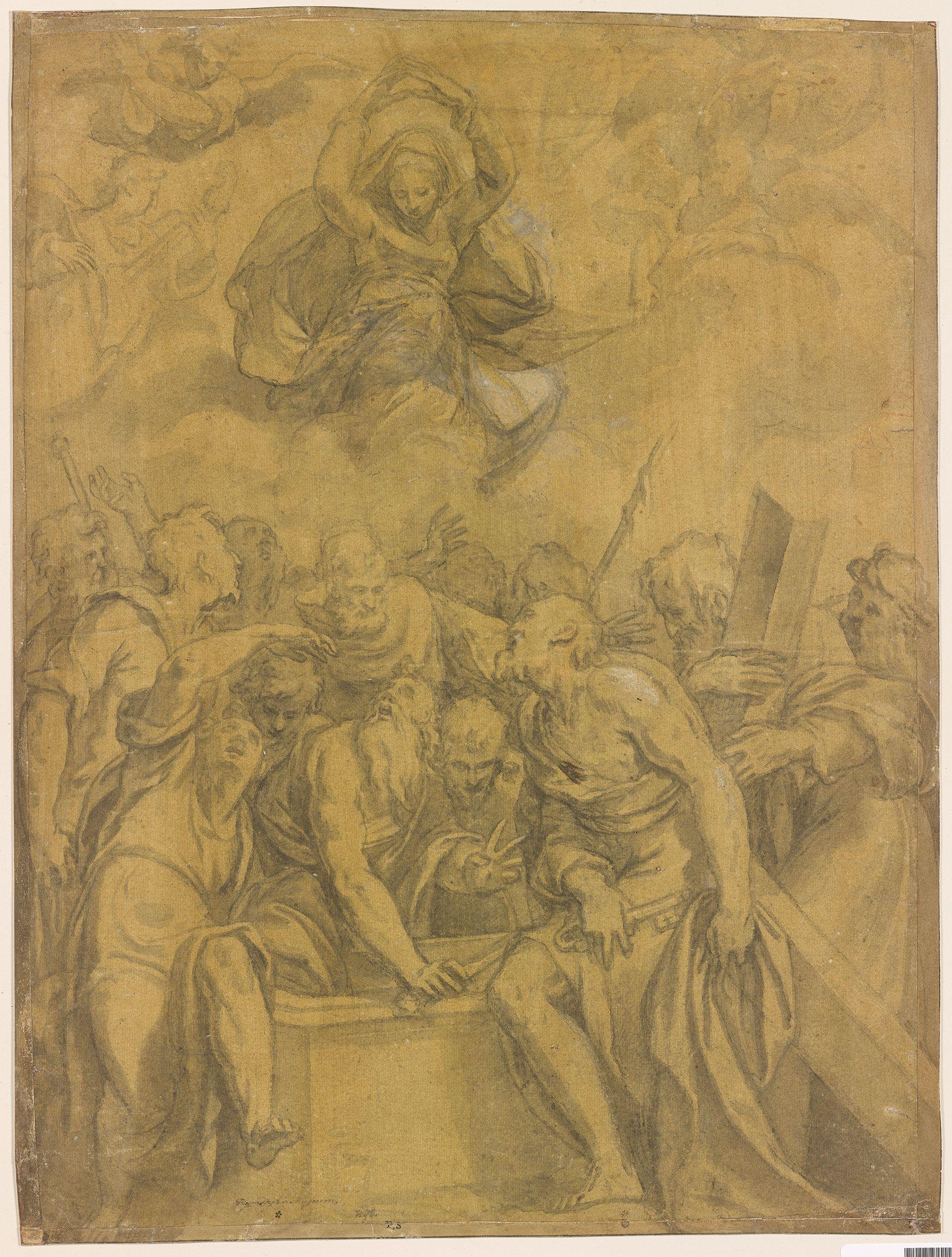 Paolo Farinati | Assumption of the Virgin | ca. 1565 | The Morgan Library & Museum