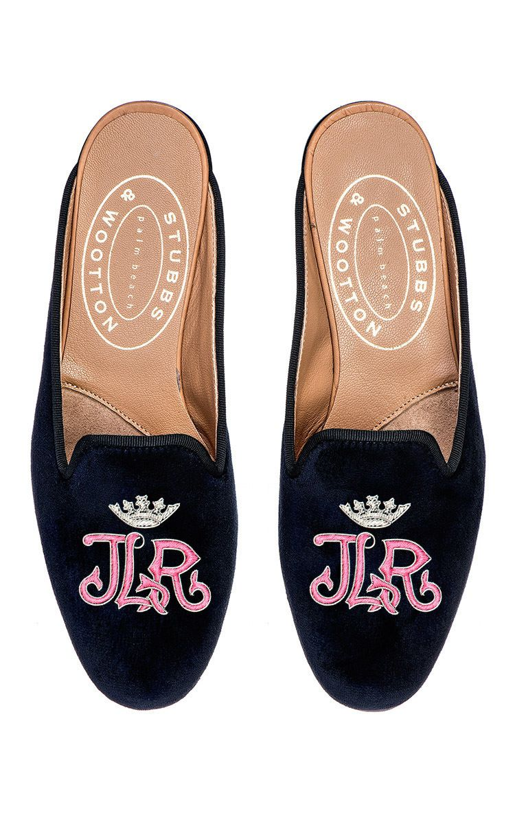 Stubbs & Wootton Metallic Embroidered Mules real for sale pay with visa sale online xgjQR606J