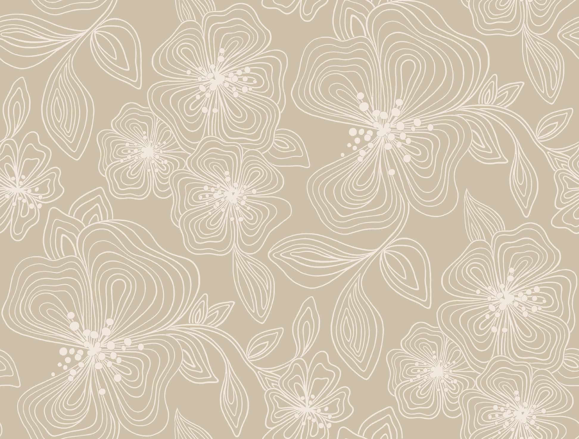 Fine Art Designer Classics LINEWORK FLORAL [YUL-97260] : Designer ...