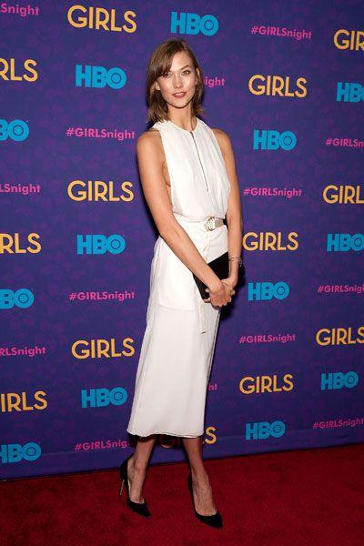 Girls Season 3 Premiere NYC - Lena Dunham Girls HBO Season 3 - Marie Claire