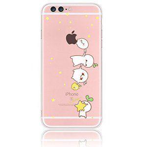coque iphone 7 transparente avec motif pomme