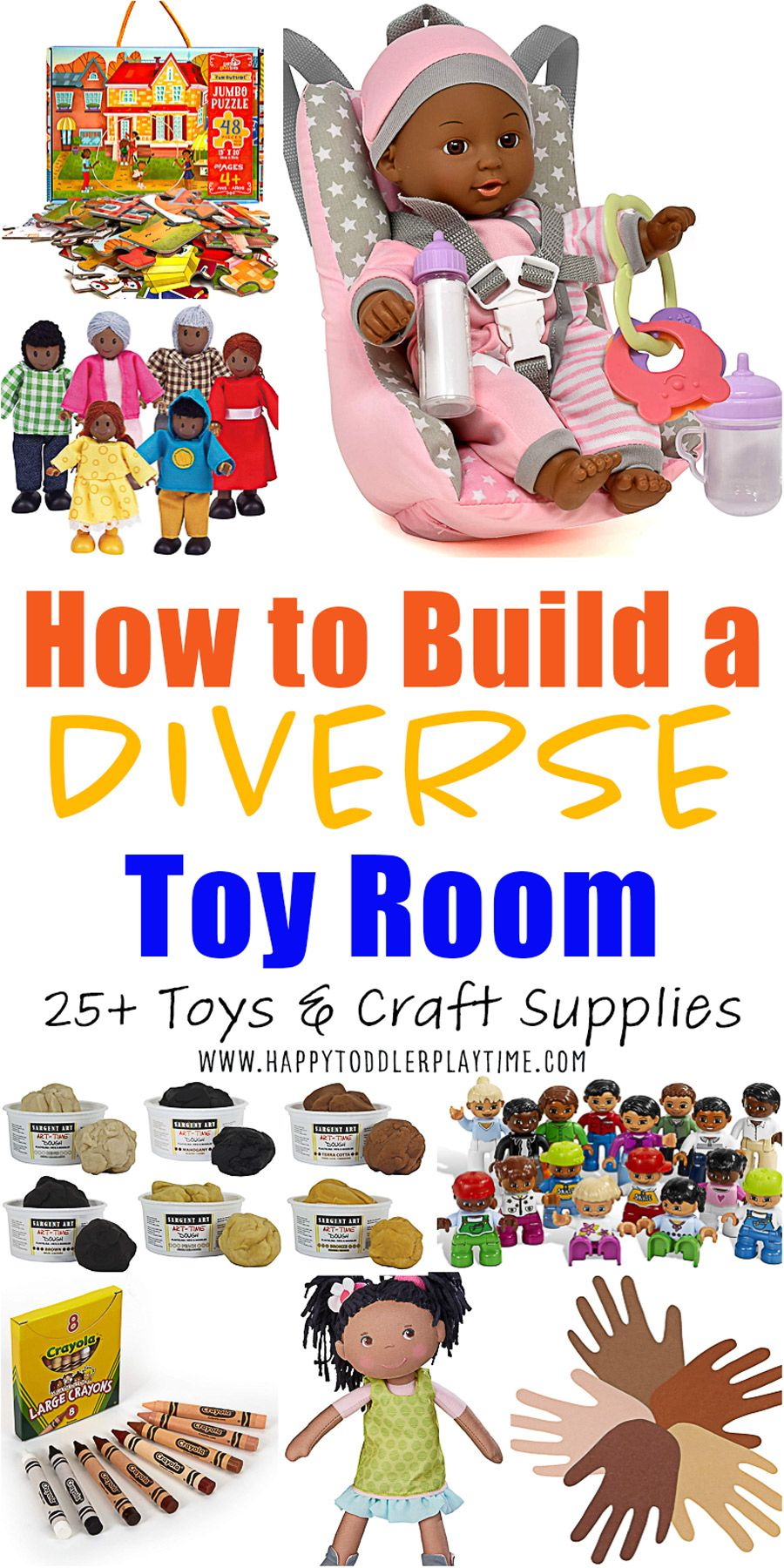 How to Build a Diverse Playroom