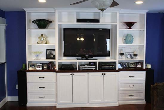 Build Your Own Custom Built In Entertainment Center Built In Entertainment Center Home Entertainment Centers Custom Entertainment Center