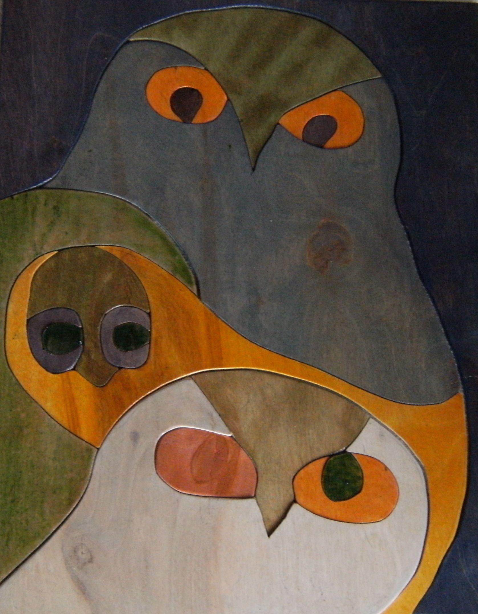 Wink, inspired by Inuit artist Ningeokuluk Teevee in 2019
