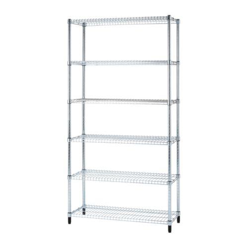 Omar 1 Section Shelving Unit Ikea étagère étagère Ikea Rangement