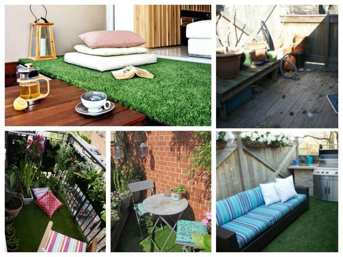 terraza con csped artificial - Terrazas Con Cesped Artificial