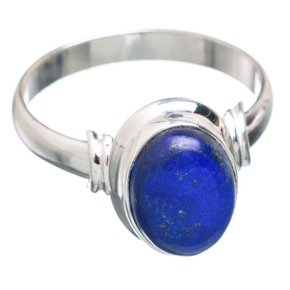 Lapis Lazuli 925 Sterling Silver Ring Size 13.25 RING714195