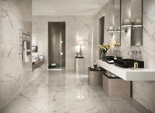 Disenos De Banos Elegantes Modern Bathroom Tile Luxury Tile