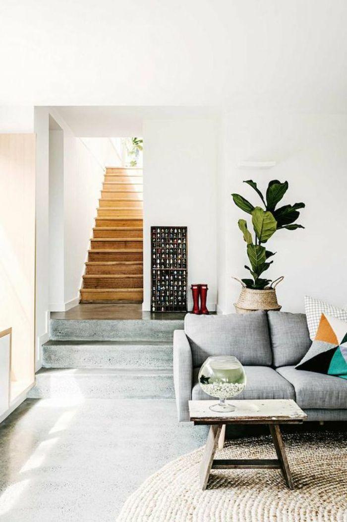 Intérieur en béton décoratif? Nos conseils! Salons, Living rooms - peinture beton cire mur