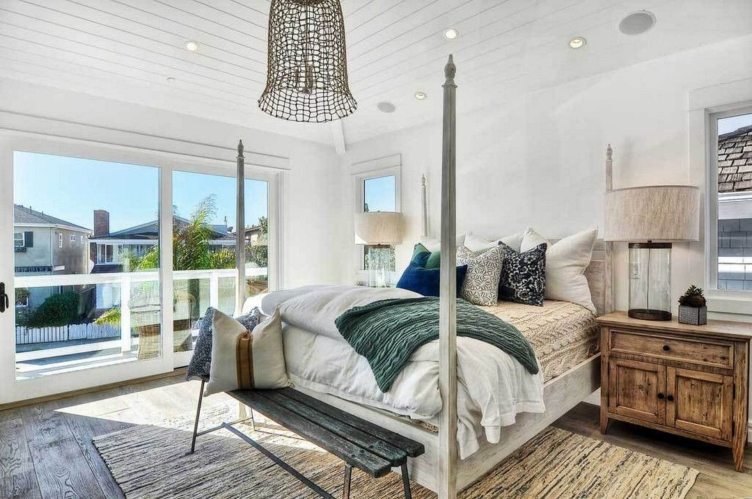 creating an amazing master bedroom uses a touch of lighting | master