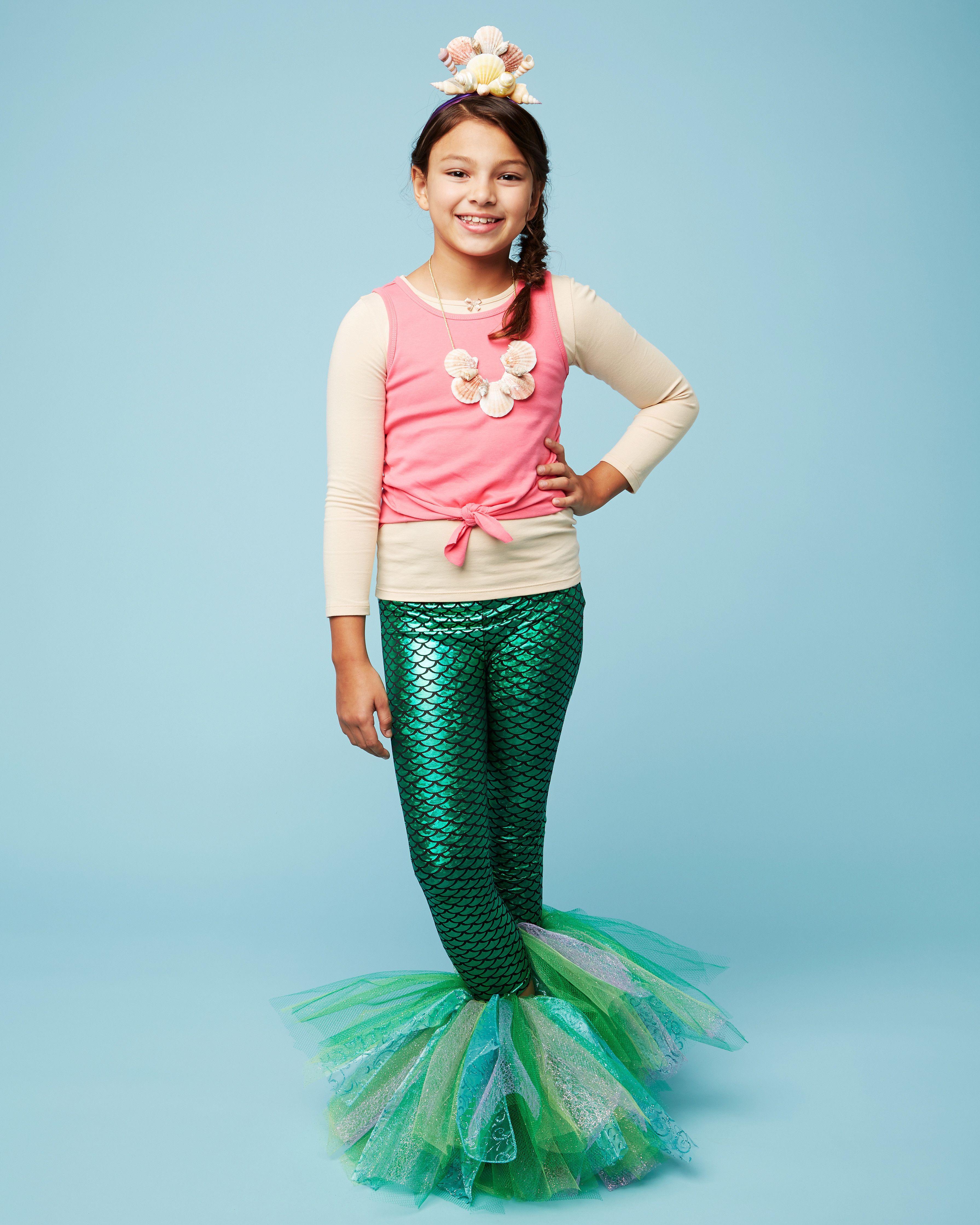 Green mermaid skirt w top