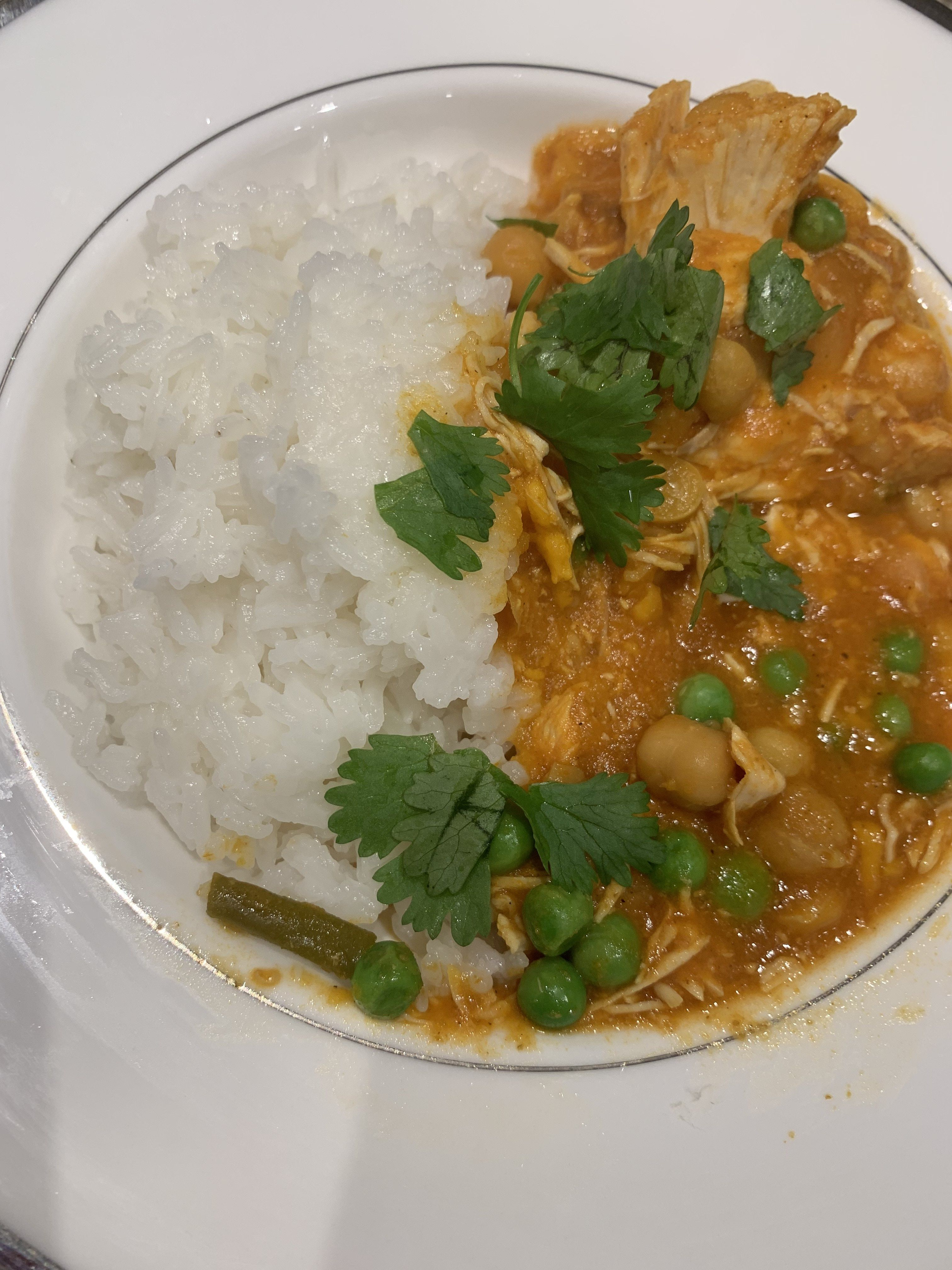 Coconut chicken chickpea curry chickpea curry coconut