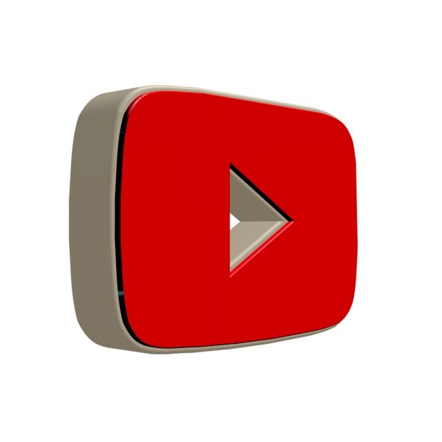 Youtube Icon Youtube Icon 3d Png Transparent Clipart Image And Psd File For Free Download Conjunto De Icones Icones Sociais Logotipo Do Youtube