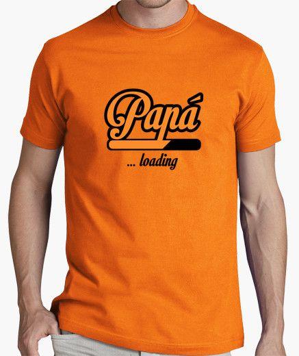 Camiseta Papa loading  6fb19af8d01c9