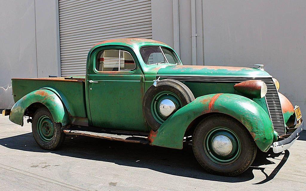 California Truckin: 1937 Studebaker Coupe Express   Cars, Classic ...