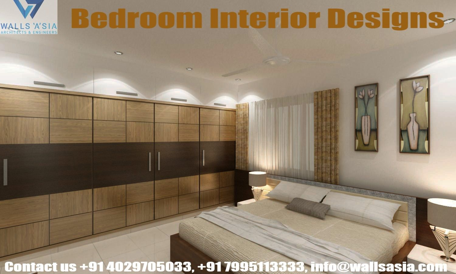 Bedroom Interior Designs By Walls Asia Architects And Interior
