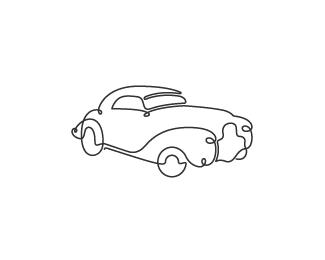 Car Drawing Logo Design Cars Trucks And Vans Car Tattoos Line Art Drawings Simple Car Drawing