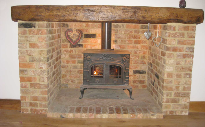 Pin By Rob Hall On Fireplaces In 2019 Brick Fireplace Stove