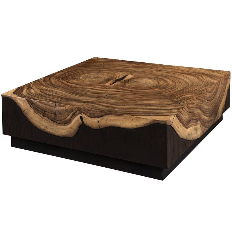 Vuelto Block Coffee Table Coffee Table Slate Coffee Table