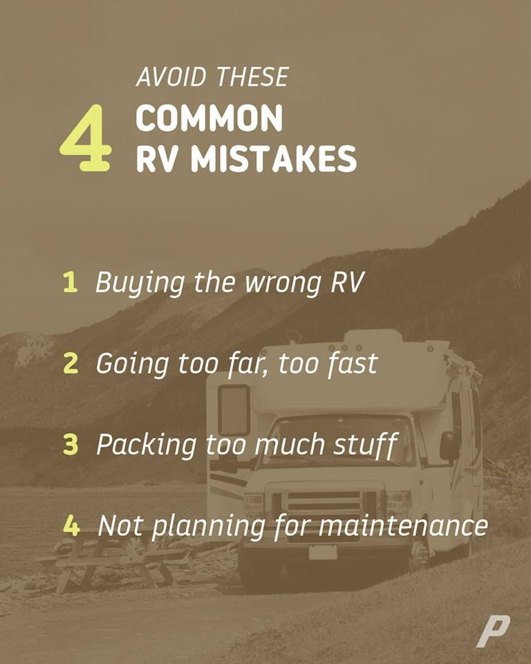 Avoid these 4 common rv mistakes rv trailer life rv