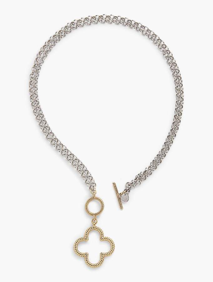 07e706af6 Convertible Clover Necklace | Products | Clover necklace, Moissanite ...