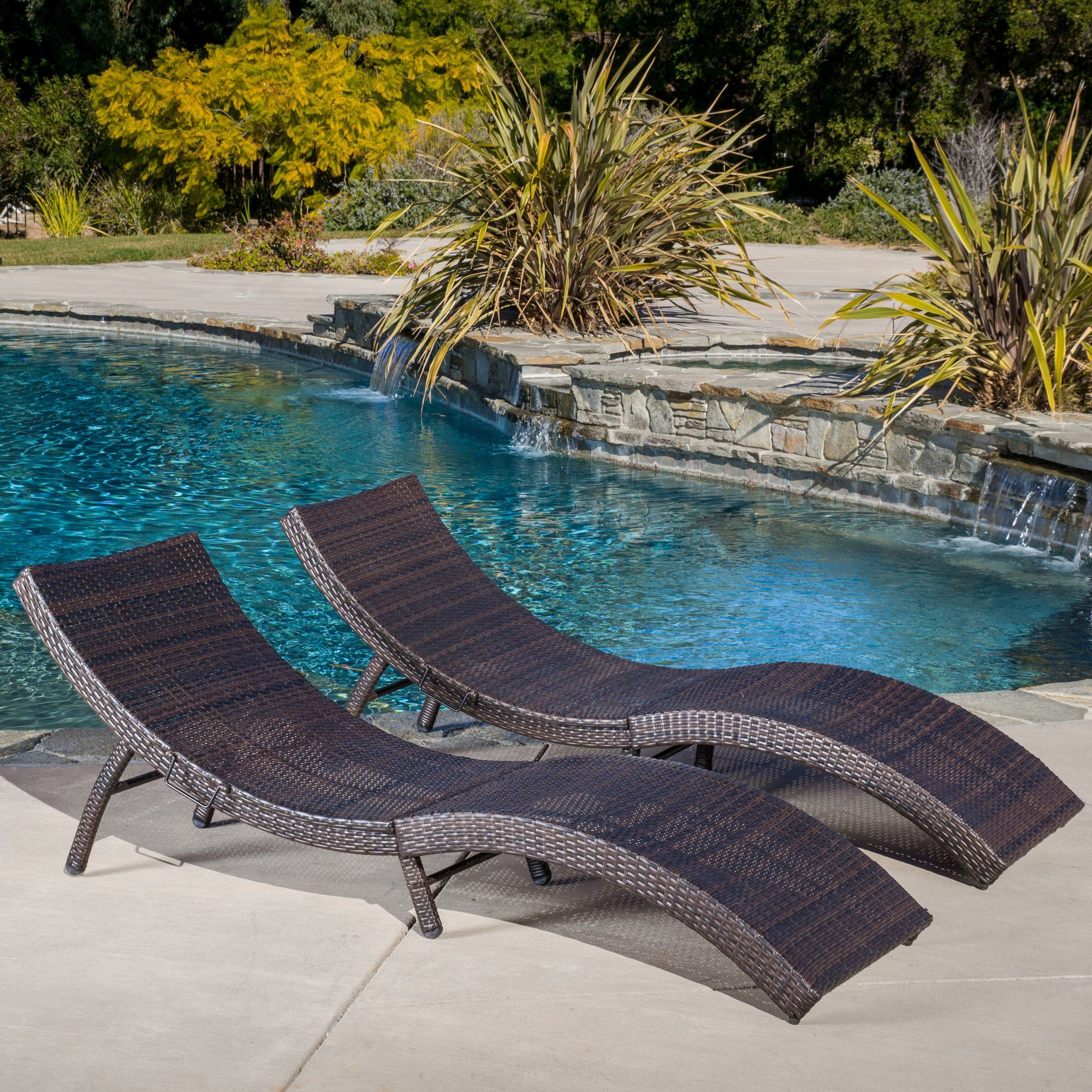 Dailey Gains Chaise Lounge Backyards Pinterest