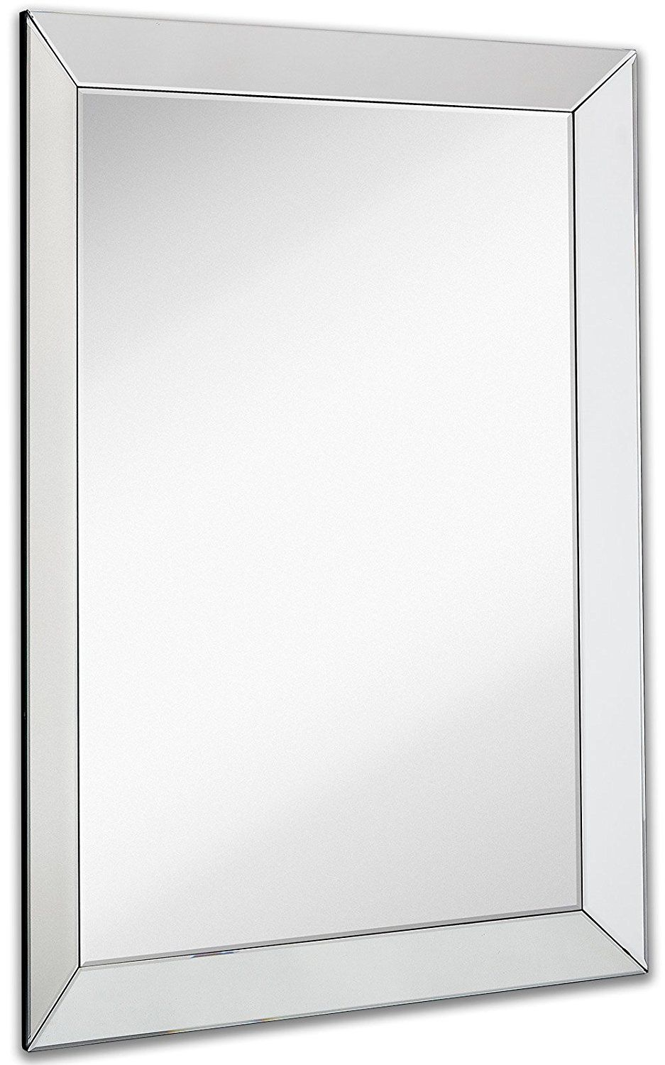Art Exhibition Amazon Large Framed Wall Mirror with Inch Angled Beveled Mirror Frame