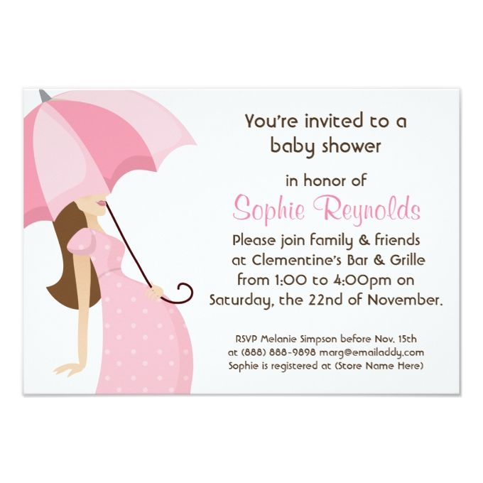 Modern mommy pink baby shower girl 35x5 paper invitation card modern mommy pink baby shower girl 35x5 paper invitation card filmwisefo Choice Image