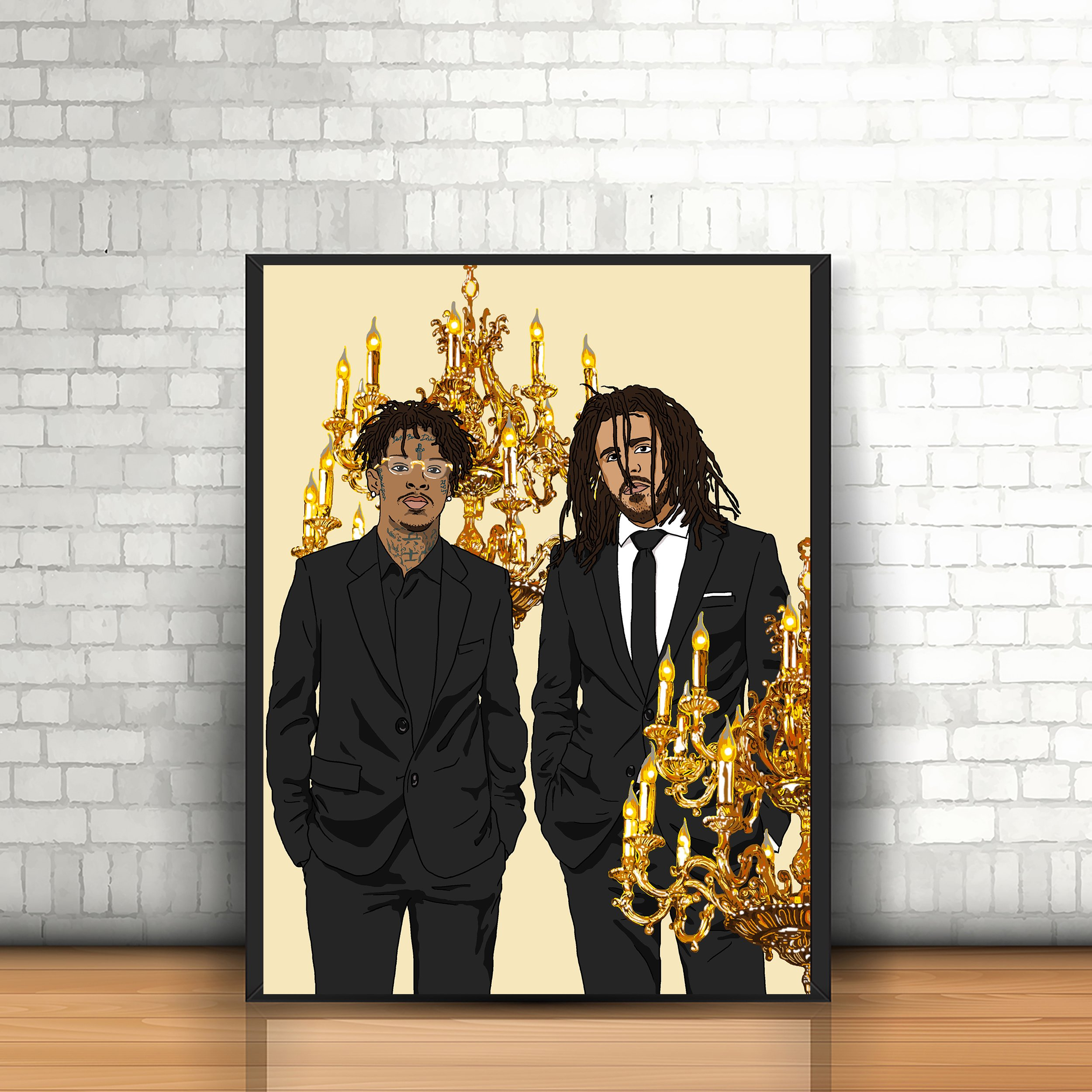 Custom Young Thug Safe New Silk Poster Wall Decor