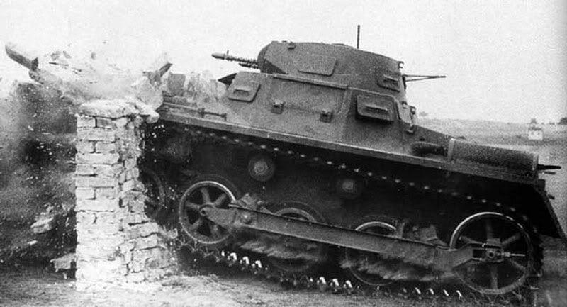 Panzer 1  #worldwar2 #tanks