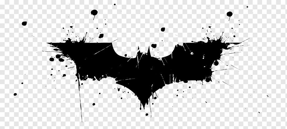 Batman Joker Logo Barbara Gordon Bat Signal Batman Heroes Logo Monochrome Png Joker Logo Batman Batman Illustration