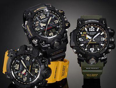 78a32314612 Relógio G-shock Casio Mudmaster Importado A Prova D água