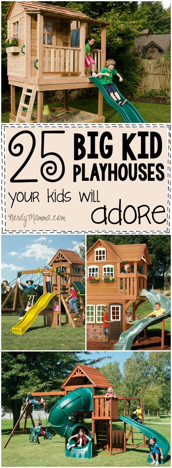 I Love These Playhouses For Big Kids So Many Great Ideas And All EXACTLY