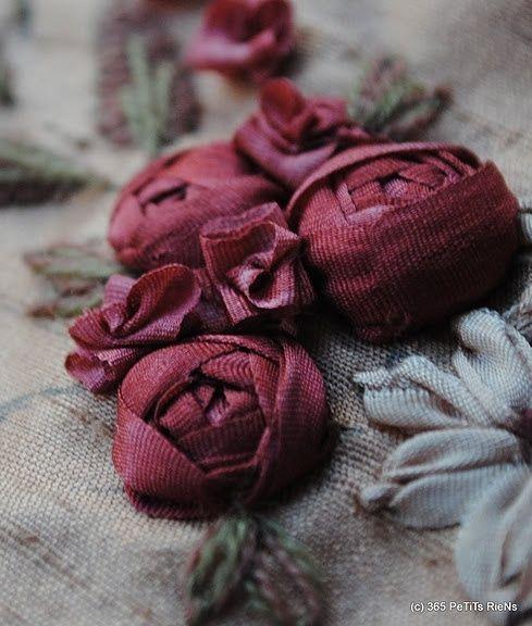 www labastidane fr/journal beautiful cabochon ribbon roses by aliena
