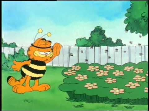 Garfield And Friends Quickie 4 Bees Garfield Cartoon Pics Bee